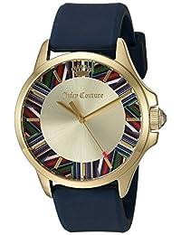 Juicy Couture Women's 1901528 Jetsetter Analog Display Quartz Blue Watch