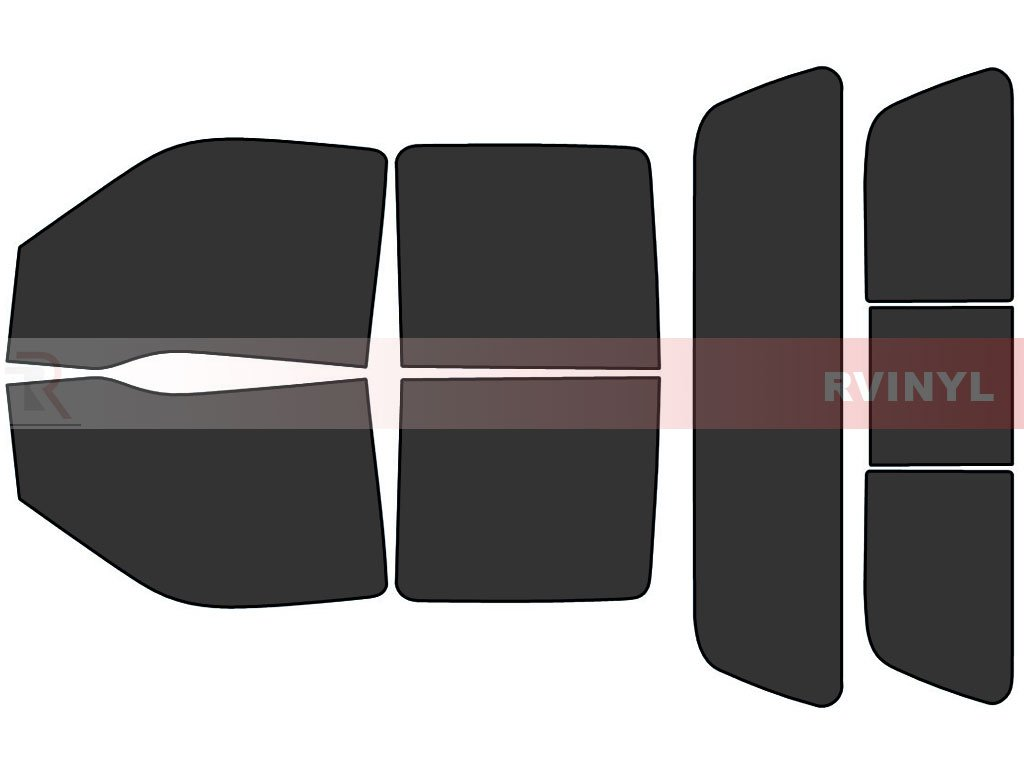 35/% 4 Door - Complete Kit Rtint Window Tint Kit for Ford F-250 2008-2016
