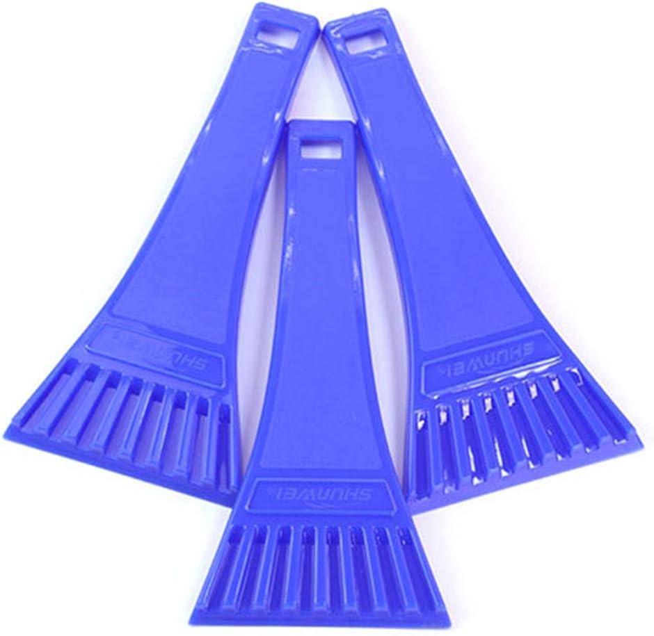 18.4cm Amazing Dadahuam Grattoir /À Glace pour Vitres Voiture Raclette De Neige Hiver Gratte-Givre Racloir en Plastique avec Manche Mini
