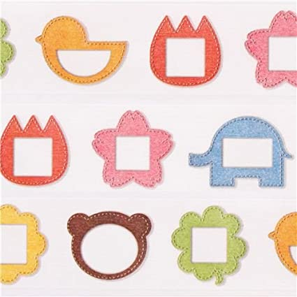 Cinta adhesiva decorativa washi de mt marcos infantiles: Amazon.es ...