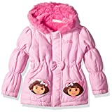 Nickelodeon Little Girls  Dora the Explorer 1 Piece Jackethood