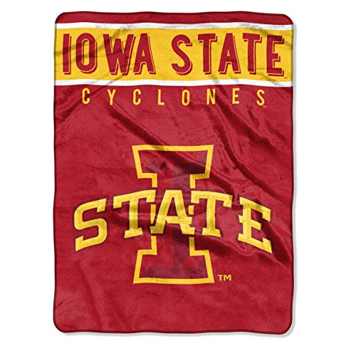 The Northwest Company Officially Licensed NCAA Iowa State Cyclones Basic Raschel Throw Blanket, 60