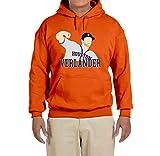 Deetz Shirts Orange Houston Verlander Hooded Sweatshirt