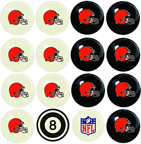 Imperial NFL公式ライセンスホームvsアウエイチームビリヤードプールボール 16ボールコンプリートセット B003ZV2CKC Tampa Bay Buccaneers
