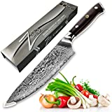 ZELITE INFINITY Chefs Knife 8 inch - Best Quality Japanese VG10 Super Steel