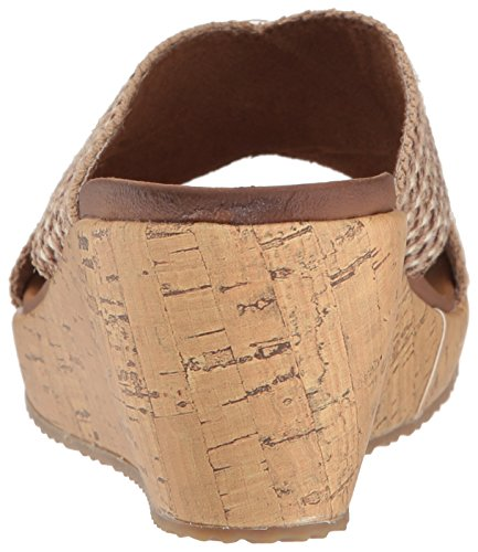 Skechers Cali Women's Beverlee Delighted Wedge Sandal Natural wiki cheap online buy cheap from china clearance shop qx997Z
