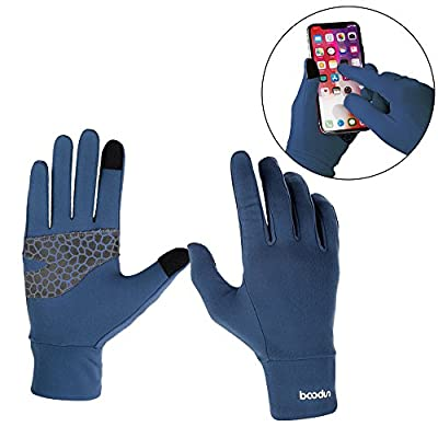 Castries Touch Screen Gloves, Cycling Gloves, Men and Women Anti-Skid Cold Weather Gloves for Bike,Climbing,Running, Skiing and Winter Outdoor Sports.