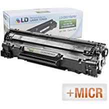 LD (MICR Toner) Remanufactured Replacement Laser Toner Cartridge for Hewlett Packard CE278A (HP 78A) Black