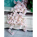YXMYH-4pcs-Artificial-Cherry-Blossom-Flower-Vines-Hanging-Silk-Flowers-Garland-for-Wedding-Party-Home-Decor-59-Feet