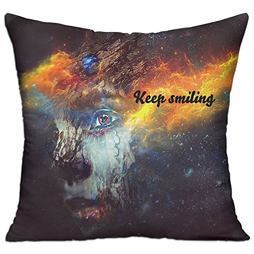 Planets For Kids Decorative Throw Pillow Cushion Cotton Linen Throw Pillows 18