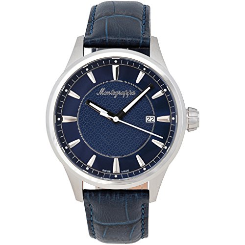montegrappa-fortuna-watch-steel-blue-dial-blue-leather-strap
