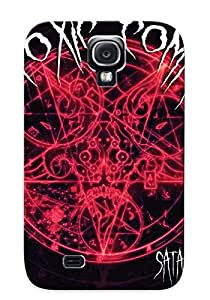 High Quality Trinalgrate Satan Pictures Skin Case Cover Specially Designed For Galaxy - S4