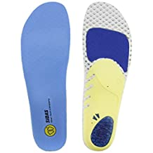 Sidas Run 3D Insoles, Blue, Small (Mens-5 to 6/Womens-6 to 7)