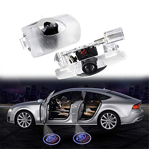 Toyota 2PCS LED Car Door shadow light Compatible Door Logo 3D Shadow Ghost Lights Led Door lights Projector Accessories for Highlander/Camry/Prius/Sienna/Tundra/Venza