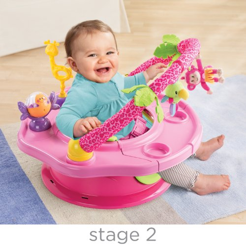 Summer Infant 3-Stage SuperSeat Deluxe Giggles Island Positioner, Booster and Activity Seat for Girl by Summer Infant (Image #2)