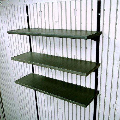 Zubehör-3-fach-Regal für Gerätehaus