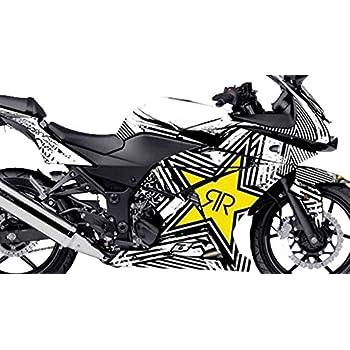 Amazon.com: Kawasaki Ninja 250 Custom Sticker Graphic Decals ...