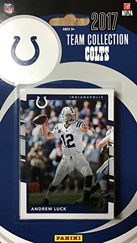 - Indianapolis Colts 2017 Donruss Factory Sealed Team Set with Andrew Luck, T.Y. Hilton, Adam Vinatieri plus