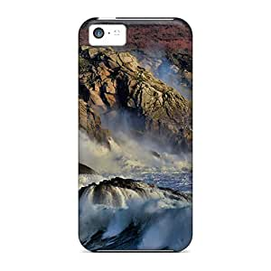 StaceyBudden Snap On Hard Cases Covers Rugged Seacoast Protector For Iphone 5c