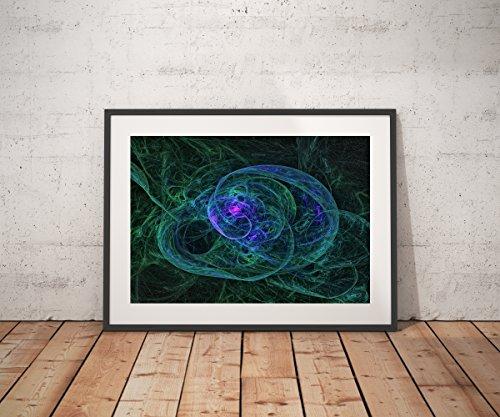 Untitled - Abstract Digital Art by Ed Warick Fine Art