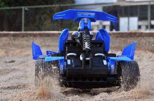 "Customizable RC Stunt Car ""SDL Transcender"" - 2.4GHz Frequency, 80-100 Meter Range"