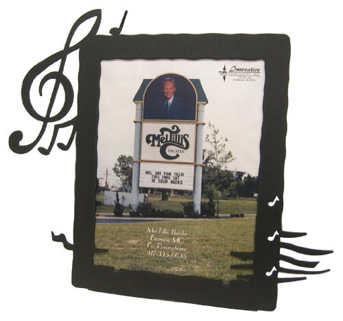 Music Notes 8X10 Vertical Picture Frame ()