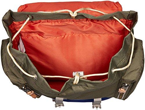 poler Mochila Bag, unisex, Rucksack Bag, Green Camo, 50 x 40 x 6 cm, 25 Liter Multicolor
