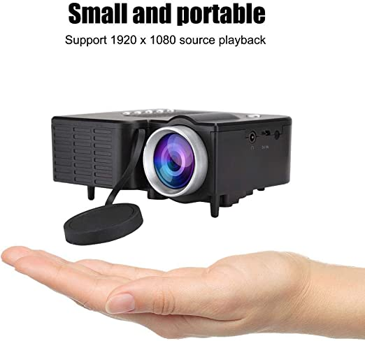 Mini Proyector, 1920X1080 Full HD Proyector de Video LED Portátil ...