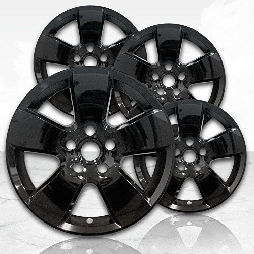 Photo Gloss Black Wheel Skin Covers (Set of 4) for Painted 20