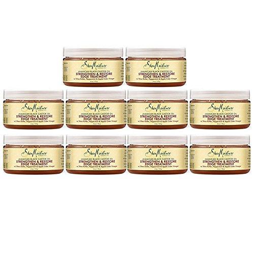 Shea Moisture Jamaican Black Castor Oil Strengthen, Grow & Restore 4 oz (10 pack) by Shea Moisture Jamaican