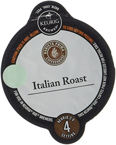 Barista Prima Italian Roast Coffee Keurig Vue Portion Pack, 24 count (Coffee Vue Keurig compare prices)