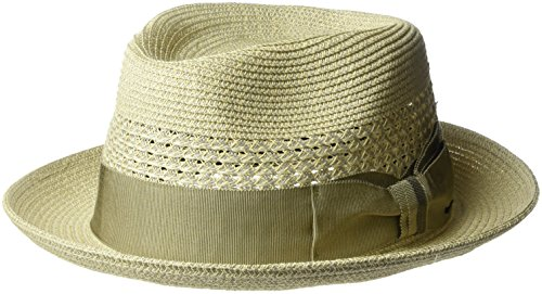 Bailey of Hollywood Mens Wilshire Fedoa Trilby Hat with Vented Crown