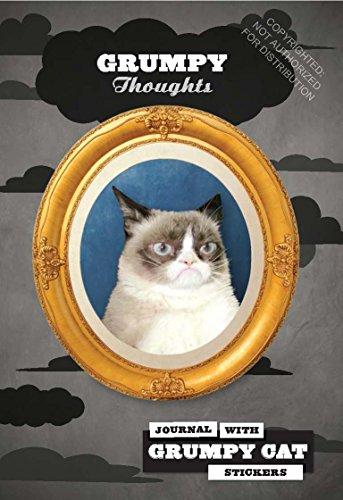 Grumpy Cat Flexi Journal with Stickers ()