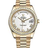 Rolex Day-Date II Yellow Gold Diamond Bezel Watch 218348