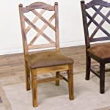 Cheap Sedona Side Chair [Set of 2] Finish: Rustic Oak