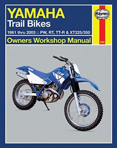 Yamaha Trail Bikes 1981-2003 Repair Manual (Haynes Owners Workshop Manual)