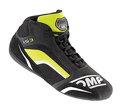 OMP KS-3 OMP IC//813 KS3 Kart Karting Boots Suede Leather in 3 Colours