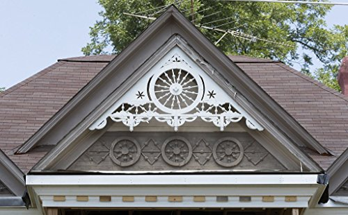 Photograph| Ornate gingerbread trim on a Victorian house in Jefferson, Georgia 1 Fine Art Photo Reproduction 24in x 16in