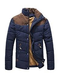 TRURENDI Fashion Men's Winter Warm Thermal Wadded Jacket Cotton-padded Winter Coat