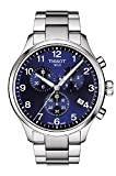 Tissot Men's Chronograph Stainless Steel Blue Dial Chrono XL Watch T1166171104701