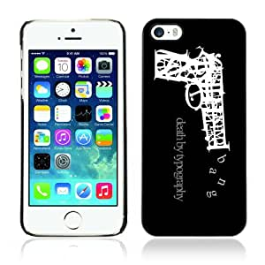 Designer Depo Hard Protection Case for Apple iPhone 5 5S / Death By Typography
