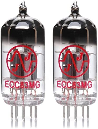 Pair of JJ ECC83MG Preamp Vacuum Tube