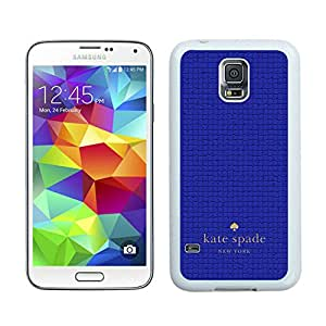 Lovely And Unique Custom Designed Kate Spade Samsung Galaxy S5 I9600 G900a G900v G900p G900t G900w White Phone Case 038