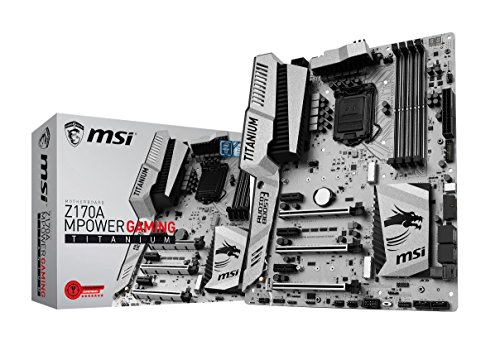 MSI Motherboard Z170A Mpower Gaming Titanium i3/i5/i7 Z170