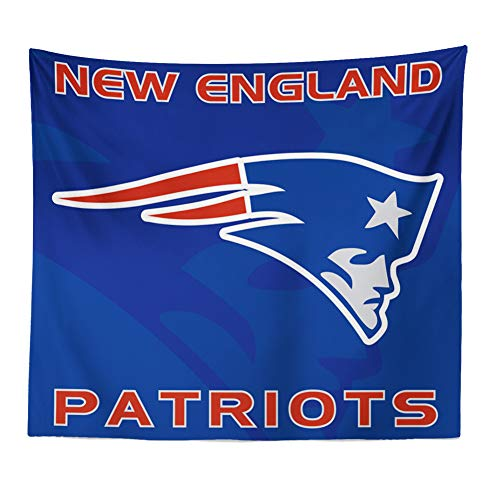 Patriots England New Tapestry (Hele Top New England Patriots Tapestry Wall Hanging Colored Printed Wall Tapestry for True Fans décor 51