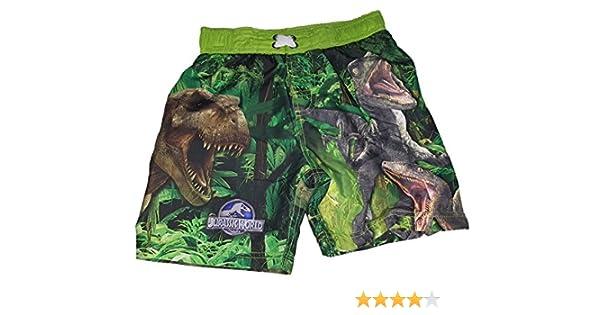 X-Large 14//16 Jurassic World Boys Dinosaur Swim Trunks Shorts