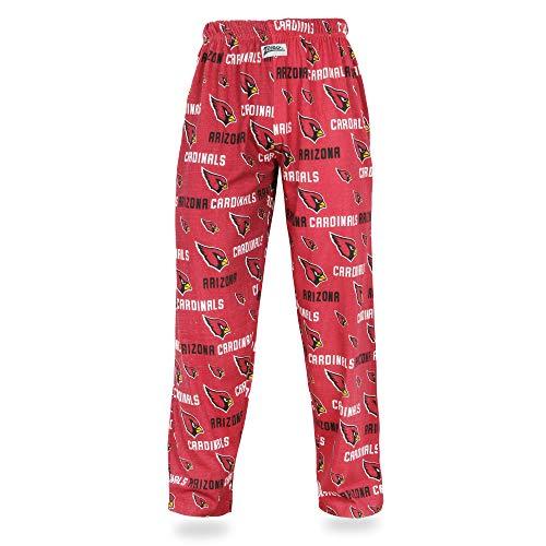 (Zubaz NFL Arizona Cardinals Men's Comfy Pants, Maroon,)