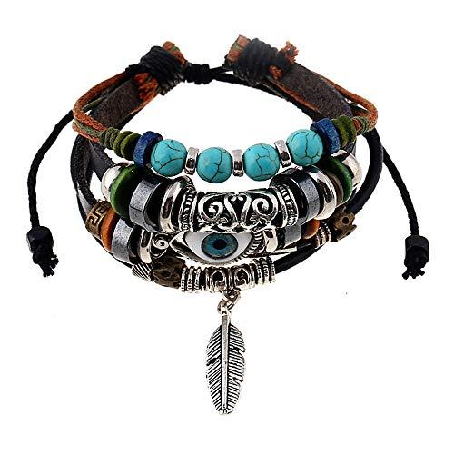 SUNNYOUTH Leopard Bracelets...