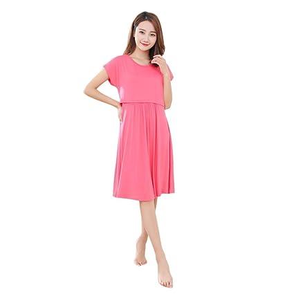 05616f9dae4b8 Hongxin Maternity Dress, Women Long Dresses Maternity Nursing Dress For  Pregnant Women Pregnancy Summer Casual