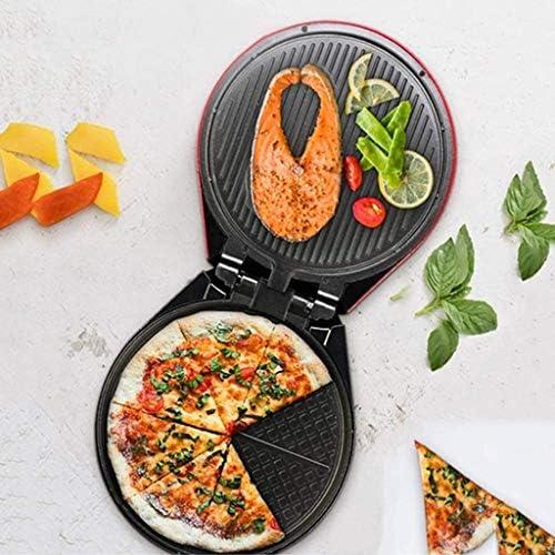 SMLZV Électrique de Cuisson Pan Double Face Pancake Pot Barbecue Machine de Mise Hors Tension Automatique Recto-Verso Sandwich de Chauffage